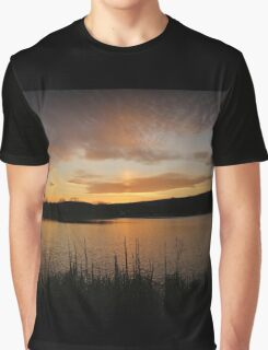 Minsi March Sunset Graphic T-Shirt