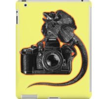 Lizard Camera iPad Case/Skin