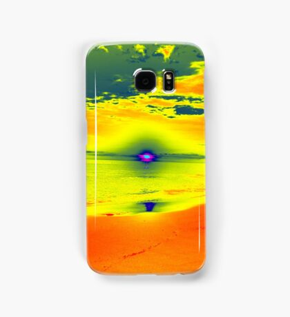 Psychedelic Sunset Samsung Galaxy Case/Skin