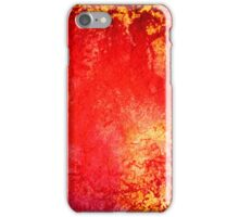 Grungy Orange and Yellow  iPhone Case/Skin