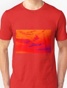 Pyschedelic Sky Colors Unisex T-Shirt