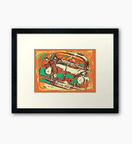 Beetle-Linc Framed Print