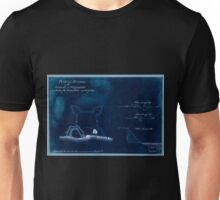 American Revolutionary War Era Maps 1750-1786 679 Plan and sections of the redoubt at Billingsfort and plan of the rebel fort marked yellow Inverted Unisex T-Shirt