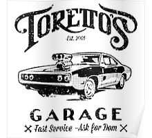 Torettos Garge Dom Poster