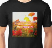 u2 with or without you Unisex T-Shirt