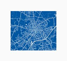 Harrisonburg Map - Deep Blue Unisex T-Shirt
