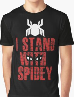 I Stand With Team Spidey - New Spiderman Logo Graphic T-Shirt