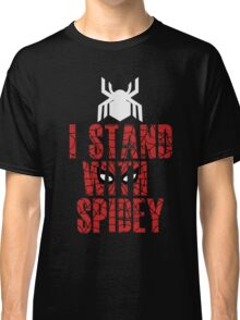 I Stand With Team Spidey - New Spiderman Logo Classic T-Shirt