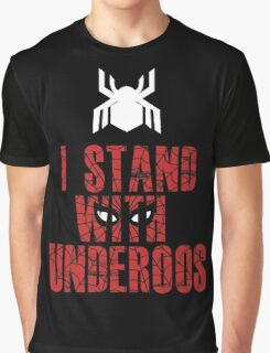 I Stand with Team Underoos - New Spiderman Logo Graphic T-Shirt