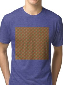 Abstract Geometric Background Tri-blend T-Shirt