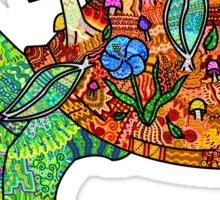 Rainbow Mushroom Tortoise  Sticker