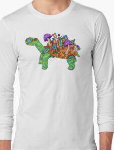 Rainbow Mushroom Tortoise  Long Sleeve T-Shirt