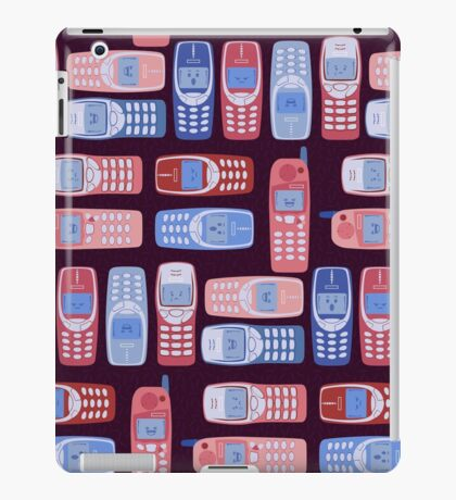 Vintage Cellphone Reactions iPad Case/Skin