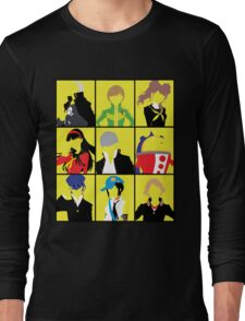 Persona 4 golden cast Long Sleeve T-Shirt