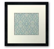 Vintage Pattern Framed Print