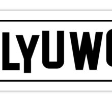 Hallyuwood 1 Sticker