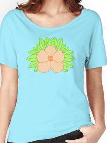 Orange Flower Women's Relaxed Fit T-Shirt