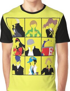 Persona 4 golden cast Graphic T-Shirt