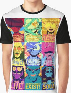 One Piece Crew Graphic T-Shirt