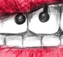 Lips & Piercings Sticker