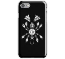 Spider Eyes White iPhone Case/Skin