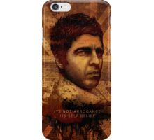It Aint Arrogance - Noel Gallagher - Oasis iPhone Case/Skin