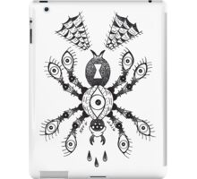 Spider Eyes B&W iPad Case/Skin