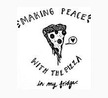 peace of pizza Long Sleeve T-Shirt