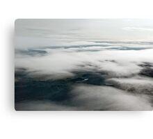 Through the clouds Canvas Print