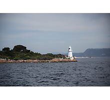 Entrance lighthouse landscape Photographic Print