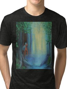 In The Faery Forest Tri-blend T-Shirt