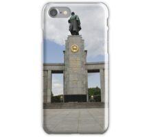 Soviet War Memorial Berlin iPhone Case/Skin