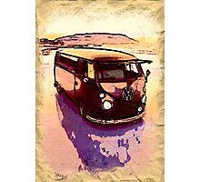 Vintage Sand Dune Photographic Print