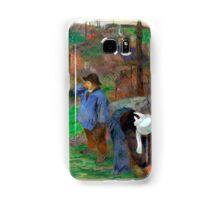 1888 - Gauguin - Landscape of Brittany Samsung Galaxy Case/Skin