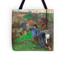 1888 - Gauguin - Landscape of Brittany Tote Bag