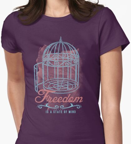 Freedom Womens Fitted T-Shirt