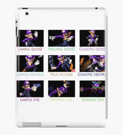 Alignment Waluigi iPad Case/Skin