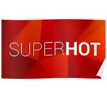 Super Hot Logo Poster