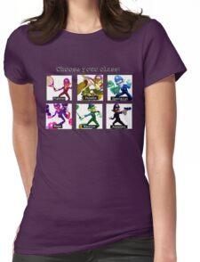 Waluigi Class Womens Fitted T-Shirt