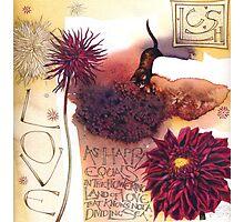 Rossetti Poem Photographic Print