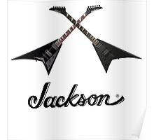 JACKSON GUITAR X Poster