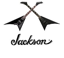 JACKSON GUITAR X Photographic Print