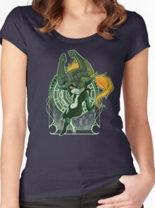 Midna's Mirror Women's Fitted Scoop T-Shirt