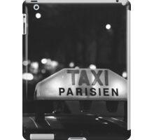 Taxi Parisien iPad Case/Skin