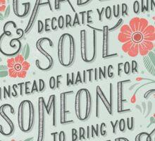 InspirationalQuoteTwo! Sticker