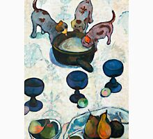 1888 - Gauguin - Still Life with Three Puppies Unisex T-Shirt