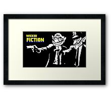 Wicked Fiction Framed Print