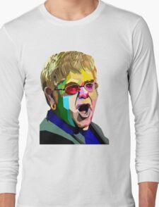 Elton John Long Sleeve T-Shirt