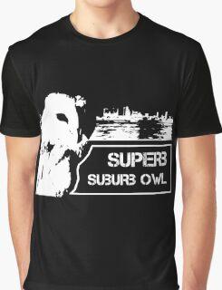 Superb Suberb Owl Graphic T-Shirt