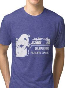 Superb Suberb Owl Tri-blend T-Shirt